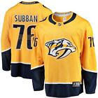 Fanatics Branded PK Subban Nashville Predators Gold Breakaway Player Jersey
