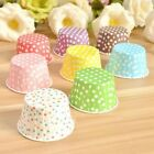 100PCS Baking Cups Cake Muffin Bake Paper Cup Heating Proof Cupcake Mold IN9