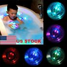 Baby Bath Time Kids Shower Party Fun Color Changing LED Light Toys US