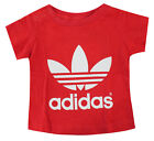 Adidas Boys Girls Unisex Infant Toddler Top T Shirt Red S143