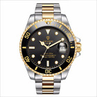 TEVISE Green Water Ghost Business Quartz Calendar Military Stainless Steel WatchWristwatches - 31387