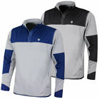Island Green Mens Snapper Fastened Stretch Warm Layer Golf Pullover 51% OFF RRP