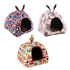 Pet Tent Triangle Bed Cushion Dog Cat Warm Soft Mat Soft Pad Nest Crate House 41