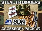 Stealth Diggers Accessory pack #2 -stickers window cling bandana metal detecting