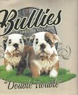 Bulldog Bullies Size Youth Small to 6 X Large T Shirt Pick Size image