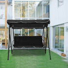 Panana Garden Swing Chair 3Seat Swinging Chair Outdoor Patio Bench Lounger Chair