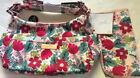 NWT JU JU BE  FORGET ME NOT Floral Hobobe Purse Baby Bag For