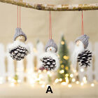 Home Decor Pendant  Pine Cone Doll Toy  Christmas Ornaments Xmas Tree Hanging