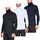 Under Armour Mens 2018 Fitted ColdGear Warm Golf Funnel Roll Neck 31% OFF RRP