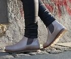 TEN POINTS LEDERSCHUHE  NEW CAROL 382001 TAUPE GREY Chelsea Boots