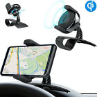 Qi Wireless Charger Car Dashboard Mount Holder HUD Design Cradle For iPhone X