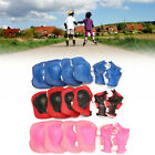 MECO Bike Knee Pads and Elbow Pads with Wrist Guards Protective Gear New Kids