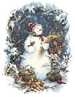 Wildlife Snowman Snowmen Winter Snow Select-A-Size Waterslide Ceramic Decals Ox image