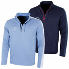 Callaway Mens Opti-Therm Colour Block 1/4 Zip Golf Sweater 50% OFF RRP
