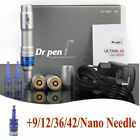 Rechargeable Ultima DR.PEN A6 Auto Electric Micro Needle Battery+Free Cartridges