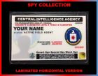 CIA...Central Intelligence Agency...USA ID COLLECTOR CARD