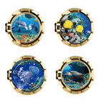 Usa Stock 3d Porthole Ocean Animals Wall Sticker Decals Pvc Mural Room Decor