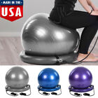 Yoga Half Ball Set Balance Trainer Exercise Fitness Strength Gym Workout w/ Pump image