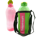 Tupperware Outdoor Giant Aquasafe Eco Drink Water Bottle Flip Top 2.0L