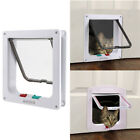 Внешний вид - 4 Way Medium Small Large Pet Puppy Dog Magnetic Lock Lockable Safe Flap Door