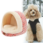 1PC Cute Soft Comfortable Half Dome Design Pet Dog Cat Bed Round House Dog House