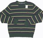 NEW $145 Polo Ralph Lauren Sweater!  2 Striped Styles  Soft Lambswool  Crewneck