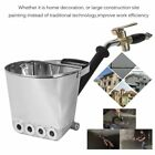 4Jet Cement Mortar Sprayer Hopper Stucco Spray Gun Wall Painting Concrete Tool@P