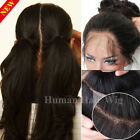 100% Indian Human Hair Lace Front Wigs Glueless 360 Full Lace Wig Pre Plucked