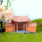 Crafts Old House Figurines miniature Door Ancient Gate Model Retro Archway