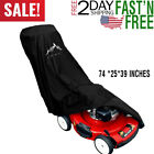 Lawn Mower Cover - Heavy Duty 600D Polyester Oxford Waterproof , UV Protection