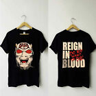 Vintage Slayer - Reign In Blood Tour T-shirt Rare double sided.