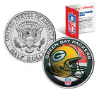 NFL HELMET LOGOS JFK Half Dollar US Football Coins OFFICIALLY LICENSED 32 TEAMS  <br/> Comes with NFL Certificate, Coin Capsule & Coin Stand