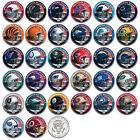 NFL HELMET LOGOS JFK Half Dollar US Football Coins OFFICIALLY LICENSED 32 TEAMS on eBay