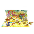 Kids Baby 3D Paper Board Jigsaw Puzzle Early Learning Construction Assembly Toy