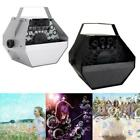 Bubble Machine Automatic Maker Auto Effects Machine Wedding Party Black/Silver