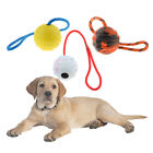 Gift for Your Doggies - Chew Ball with Cotton Rope Handle for Pet Dogs