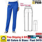 WonderWink Scrubs PRO Women's Knit Waist Cargo Pant 5419 Regular/Petite