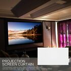 """16:9 Manual Projection Screen Projector Home Movie Matte White 80/92/100/120"""" SG"""