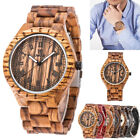 UWOOD Wooden Watches for Men Relogio Masculino All Solid Mens Wood Watch Wristwa image