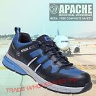 Apache Safety Trainer Shoe Oulton Metal Free Composite Toe Cap Work boot UK 3-13