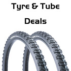 "26"" x 1.95"" Off Road MTB Tyre Pair Vandorm Fury XC and Inner Tubes"
