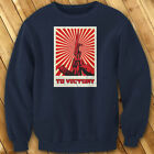 TO VICTORY UNITED STATES ARMY REBEL GUN FREEDOM Mens Navy Sweatshirt $27.99 USD on eBay