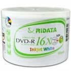 Ritek Ridata 16X DVD-R 4.7GB (Shrink Wrap) Wholesale