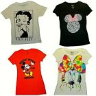 Betty Boop  Disney Mickey Mouse Minnie Mouse  Juniors  T-Shirts  NWT $14.95 USD on eBay