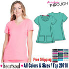 Heartsoul Scrubs Women's Medical New Shaped V-Neck Top 20710