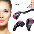 Ti 540 Microneedle Scar Dermal Wrinkles Skin Roller Therapy Care Tool 0.25/0.5mm $6.26 AUD on eBay