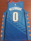 NEW Oklahoma City Thunder #0 Russell Westbrook Basketbal Jersey Blue Size:S-XXL on eBay