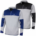 Island Green Mens Snapper Fastened Stretch Warm Layer Golf Pullover