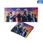 Japanese Anime Naruto Wallet Coin Pocket Purse Short Wallets for Young New LCF
