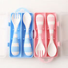 Baby Tableware Infant Spoons Children Soft Soup Fork Baby Spoon Cute Set